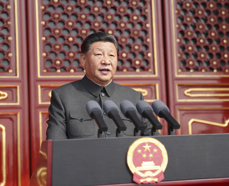 習近平:在慶祝中華人民共和國成立70周年大會上的講話